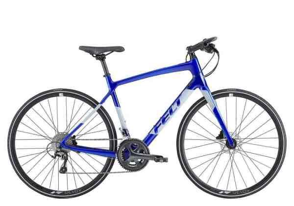 Felt Verza flat bar hybrid road bike with carbon frame