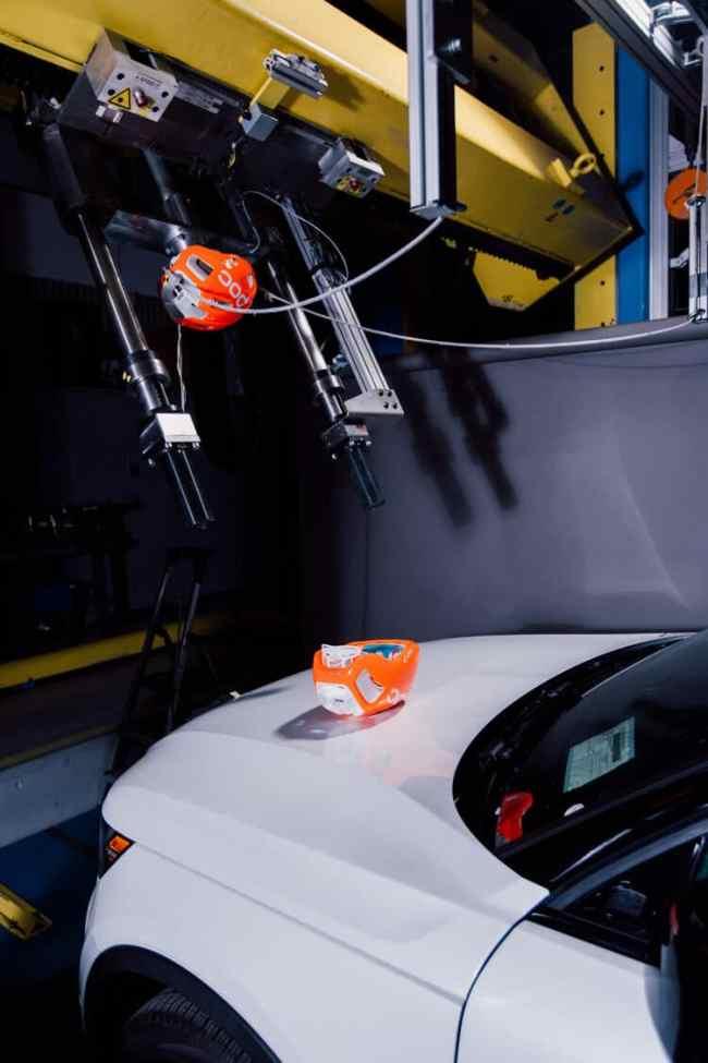 POC and Volvo collaborate to design new car-bike helmet crash test