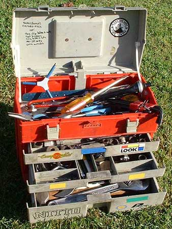 Setting Up My Park Tool BX-3 Toolbox