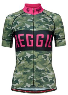 REGGIE Classy Camo Jersey, Classy Pink Bibs and Full Gas Socks Review