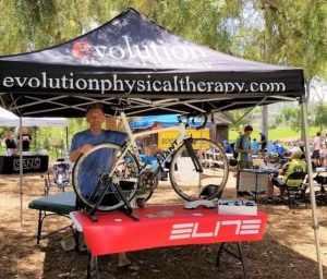 tent using elite equipment