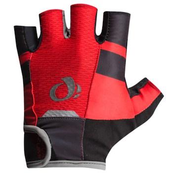 Fingerless Gloves Gel Padded Palm RED//WHITE Cycling PRO-SERIES Short Finger