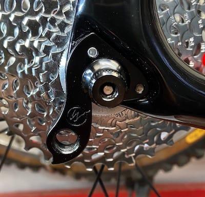 NEW BICYCLE REAR DERAILLEUR HANGER STOP NUT /& BOLT