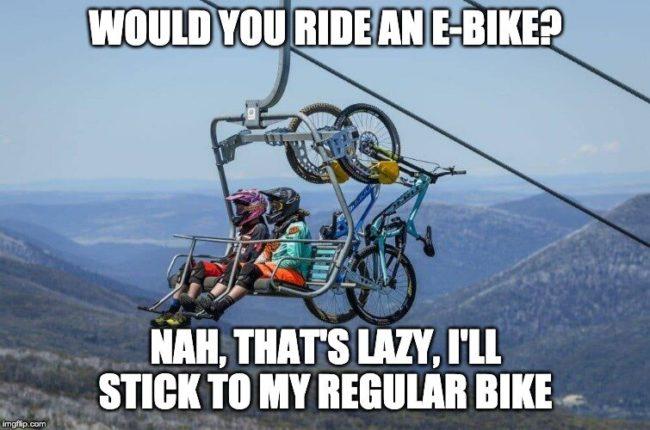 ebike lazy