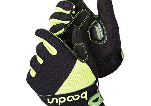 Sunvp Touch Screen Unisex Full Finger Cycling Hand Gloves With Gel