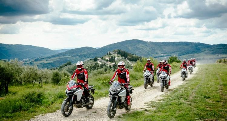 Ducati DRE Enduro, tour in Toscana