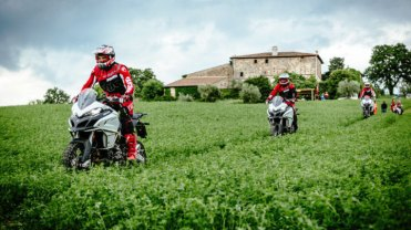 Ducati DRE Enduro, tour in Toscana