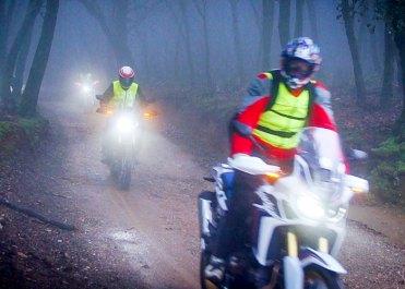 Honda Africa Twin True Adventure: guida off road