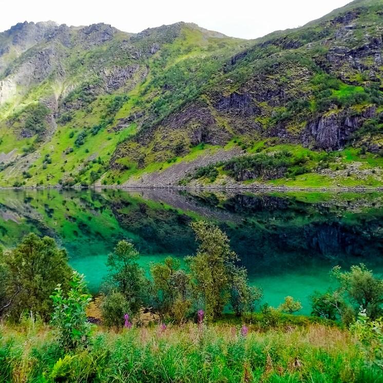 Capo Nord in moto, le isole Lofoten in Norvegia