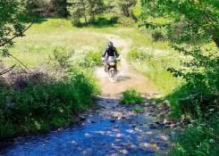 Pirenei in moto: guado verso Saint-Laurent-de-Cerdans