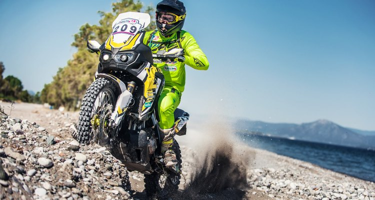 Paramotore Touratech testato in occasione dell'Hellas Rally