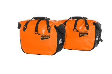 Borse laterali morbide Touratech Endurance Click in arancione