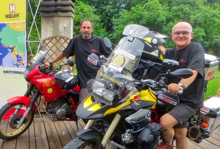 """""""To Asia"""": dall'Italia al Vietnam in moto, Franco Ballatore e Maurizio Pistore"""