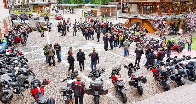 Multi Meeting Nazionale Multistrada 1200, il raduno a Canazei