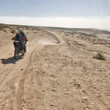 sulla pista in direzione Agadir