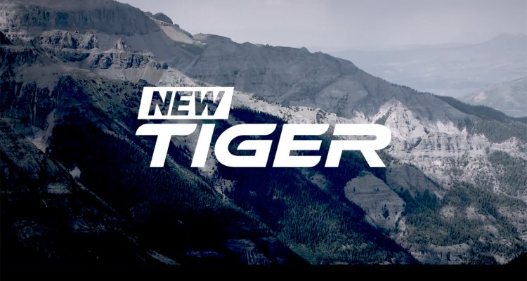 Triumph Tiger 2018 teaser video
