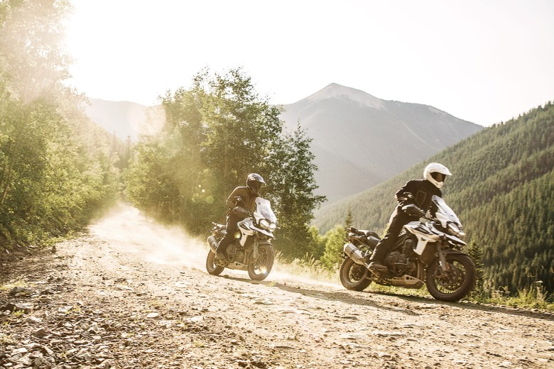 Nuova Triumph Tiger 800 2018 adventure