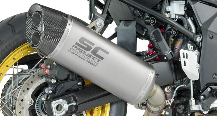 Scarichi SC-Project per la Suzuki V-Strom 1000