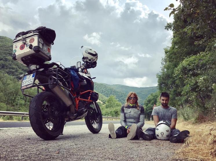 The Bikerchefproject Roberto Agostini e Pagi e KTM adventure