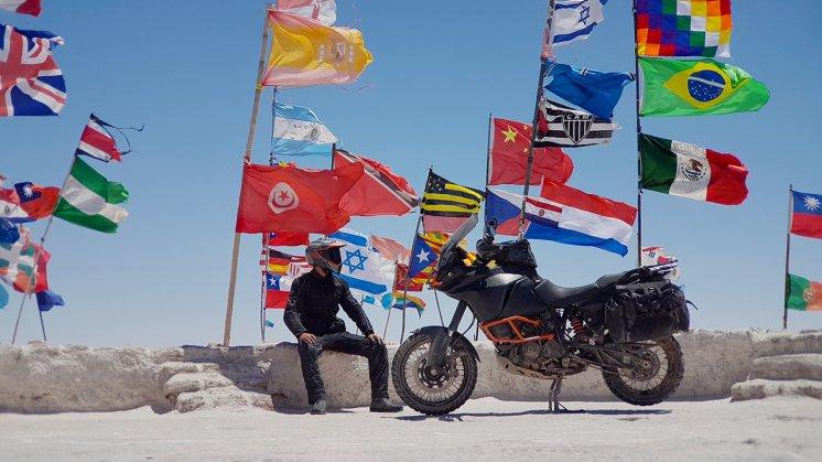 Giro del mondo in moto Paolo Cattaneo