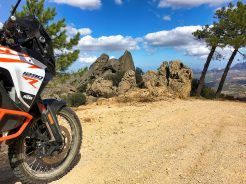 Chris Birch ospite al KTM Adventure Rally italiano