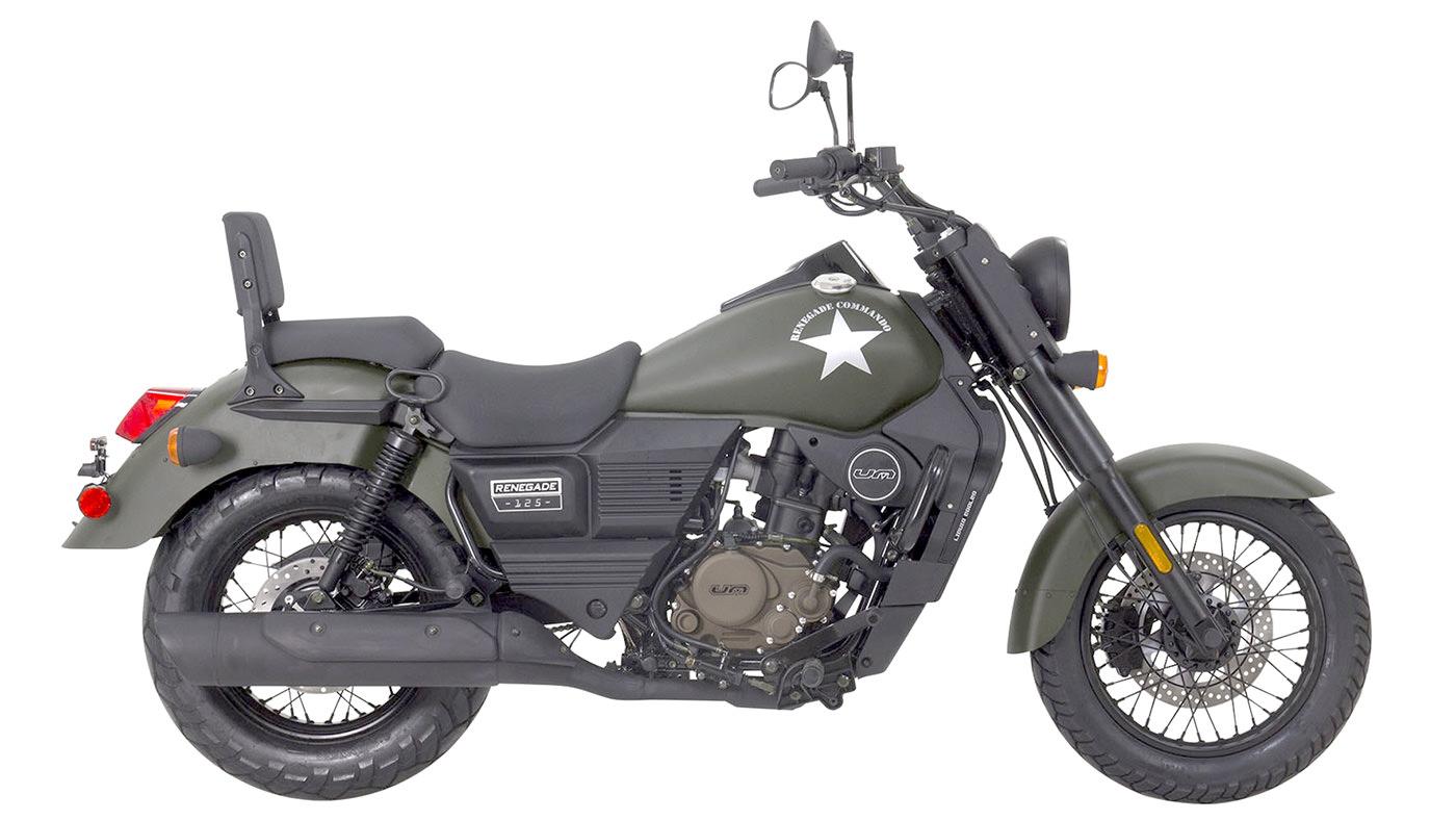 um motorcycles scrambler renegade commando