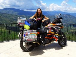 Anna Grechishkina - Female Solo Ride Around The World - I have a Dream