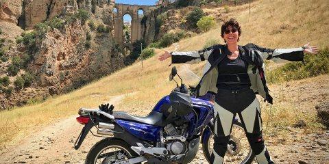 viaggio in moto in Andalusia
