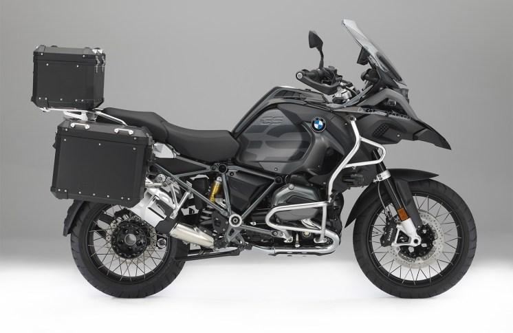 """Eleganza sulle BMW GS con gli accessori """"Edition Black"""""""