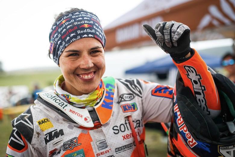 Laia Sanz motociclista donne alla Dakar