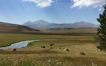 Il Caucaso dell'Azerbaijan, attraverso Turchia e Georgia