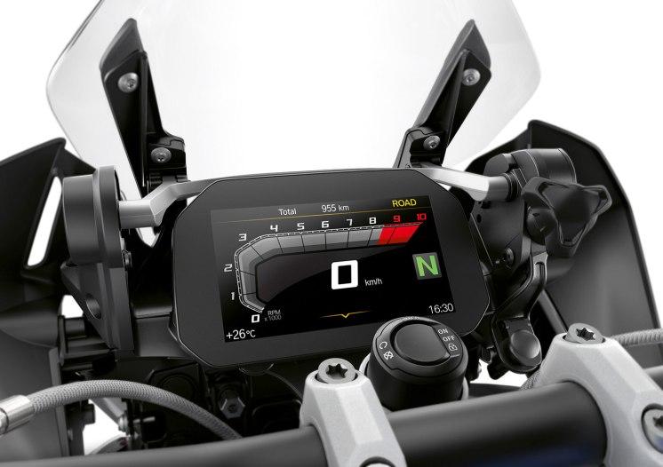 BMW R 1250 GS strumentazione tft