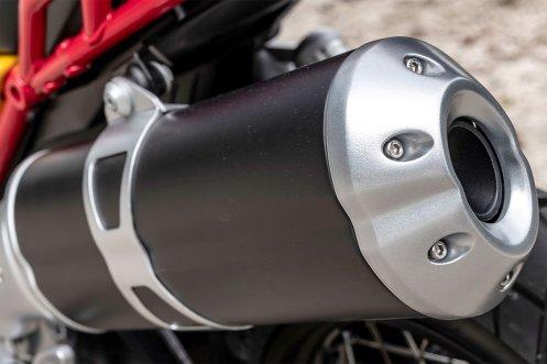 2018 Moto Guzzi v85 tt scarico