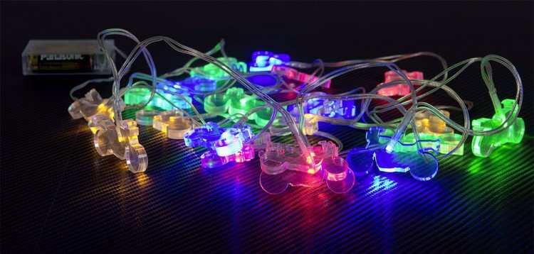 Ghirlanda LED moto Louis