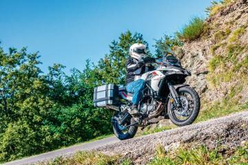 video test Benelli TRK 502X Prova su strada