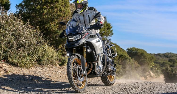 BMW F 850 GS Adventure, guida off road