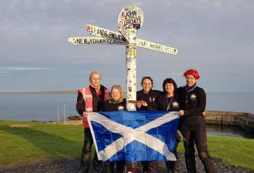 Women Riders World Relay John o Groats