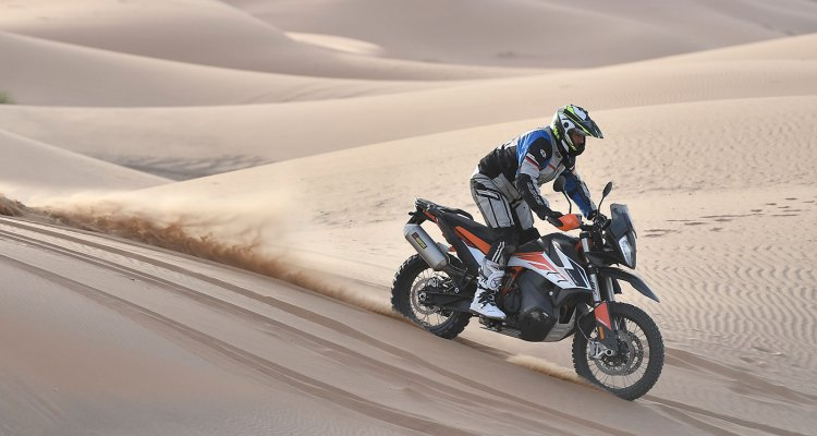 la rivista RoadBook prova KTM 790 Adventure in Maocco