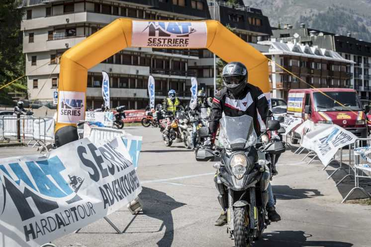 HAT Sestriere Adventourfest, un test ride tira l'altro