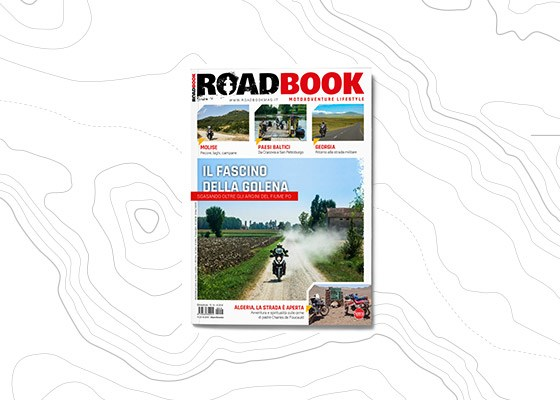 copertina rivista RoadBook numero 14