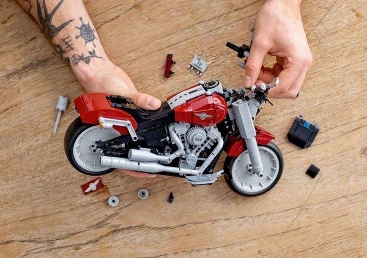 Harley-Davidson® Fat Boy LEGO