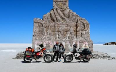 RoadBook Salar de Uyuni Monumento Dakar