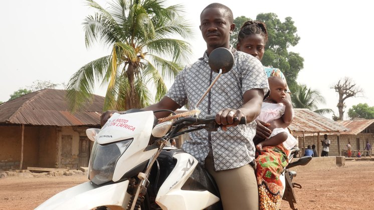 Nicola Andreetto in Sierra Leone progetto National Emergency Medical Service