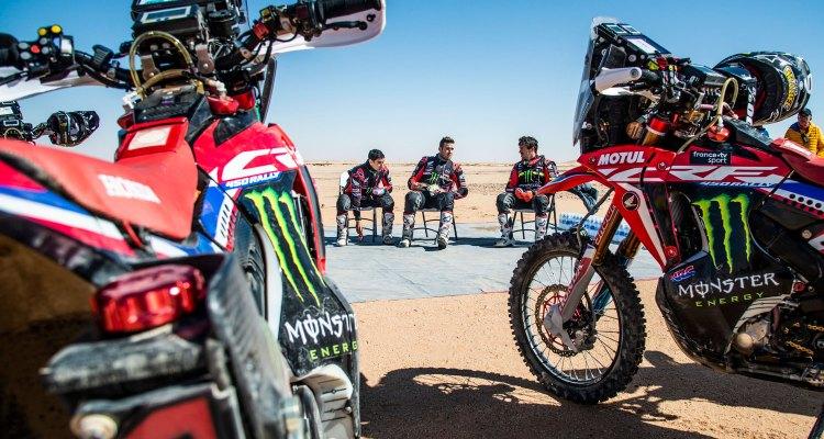 team Honda alla Dakar