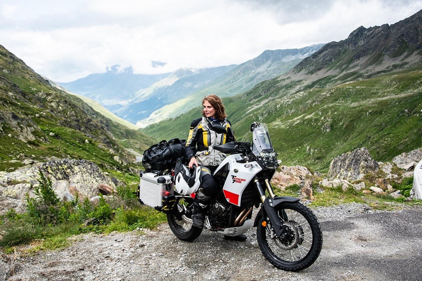 Lea Rieck Yamaha Tenere 700