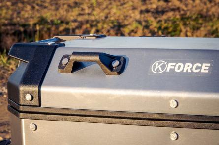 Valigie in alluminio KAPPA K'Force. Capienza a sgancio rapido