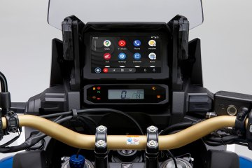 Honda CRF1100L Africa Twin con display Android Auto