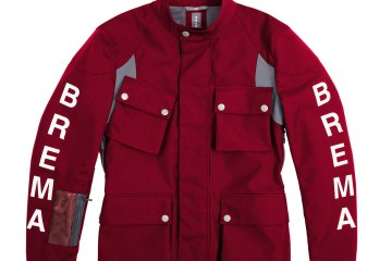 giacca rossa Brema Silver Vase Adventure Sport