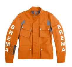 giacca arancio Brema Silver Vase Adventure Sport