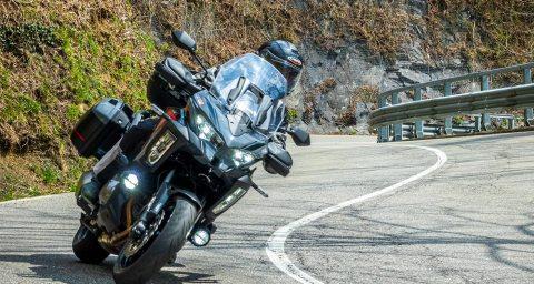Kawasaki Versys 1000 S in versione Grand Tourer
